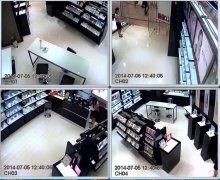 无锡锡山区宜家化妆品连锁视频监控安装